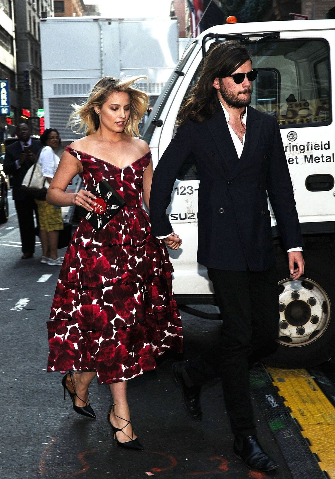 Dianna Argon and Winston Marshall/Photo:Getty Images
