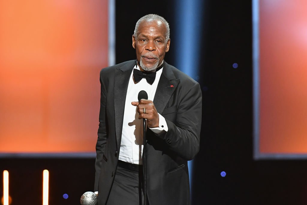 Image Source: Getty Images/Earl Gibson III| Honoree Danny Glover accepts the President's Award onstage at the 49th NAACP Image Awards on January 15, 2018 in Pasadena, California