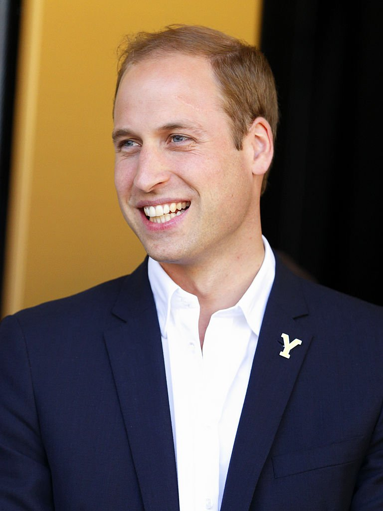 Image Source: Getty Images/ Prince William in a suit