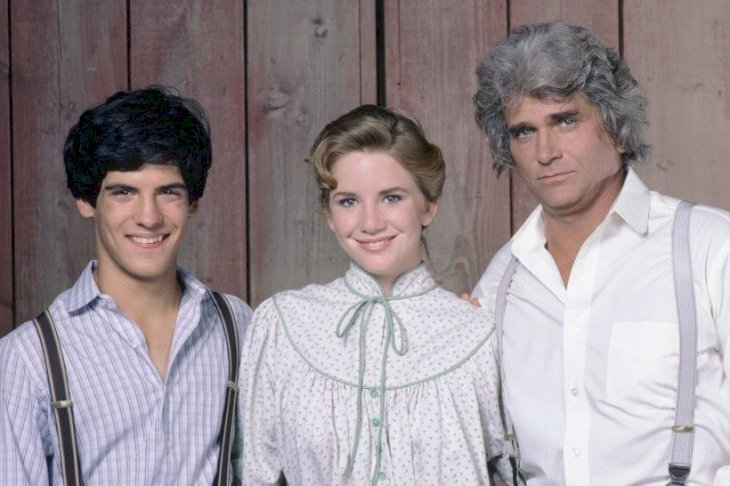 Image Credit: Getty Images/NBCU Photo Bank/Frank Carroll | Matthew Laborteaux as Albert Quinn Ingalls, Melissa Gilbert as Laura Ingalls Wilder, Michael Landon as Charles Philip Ingalls from Little House on the Prarie