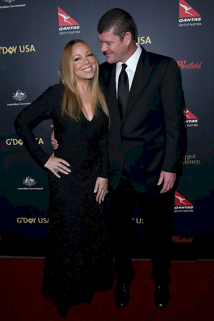 Mariah Carey and James Packer/Photo:Getty Images