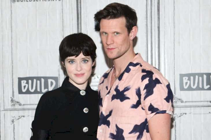 Image Credit: Getty Images/WireImage/Steve Zak Photography | Actors Matt Smith and Claire Foy from The Crown