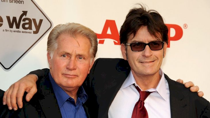 Image Credit: Getty Images / Charlie Sheen and his father, Martin Sheen.