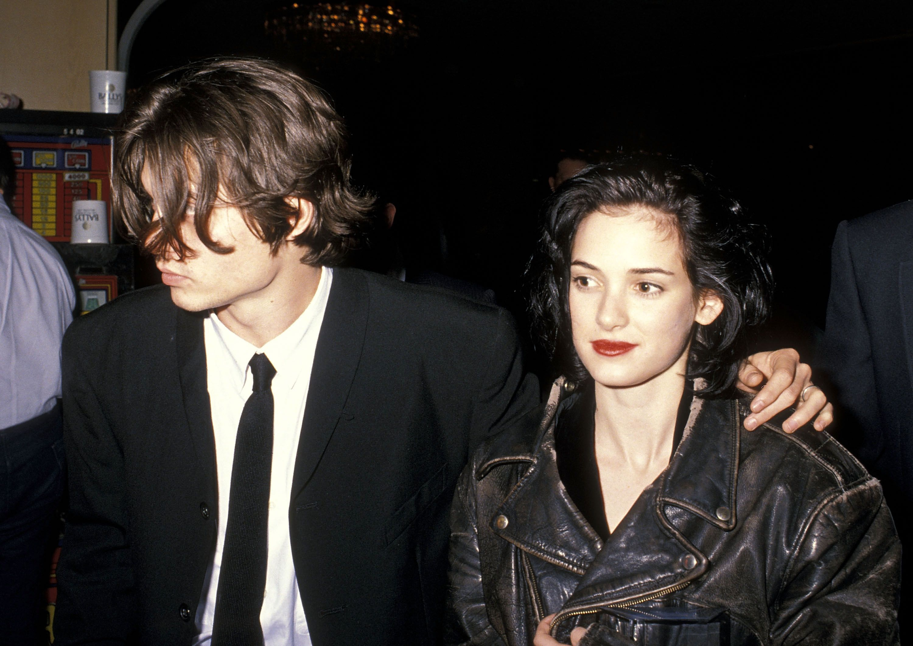 Johnny Depp and Winona Rider / Getty Images