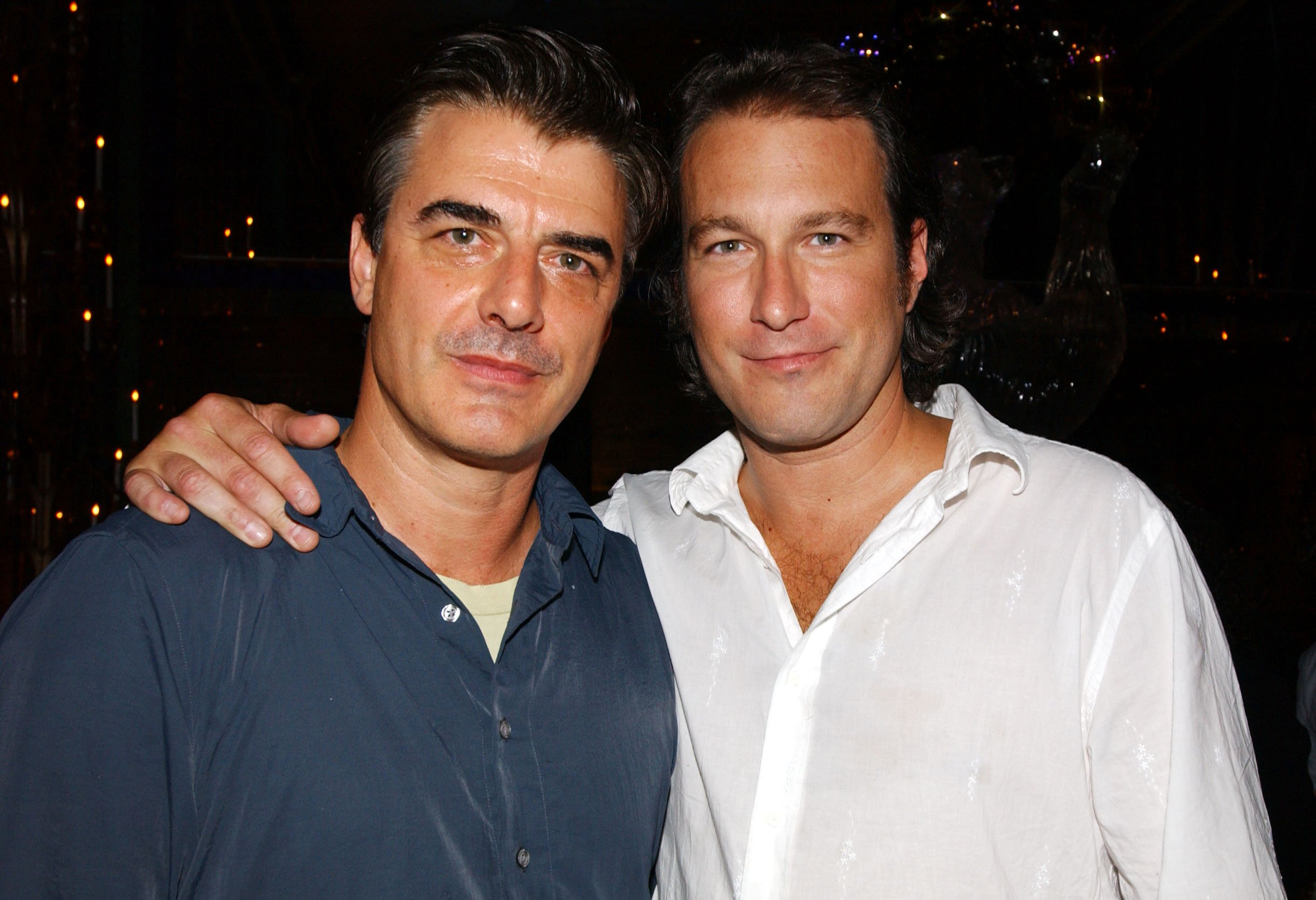 Image Credits: Getty Images / John Corbett and a fellow actor.
