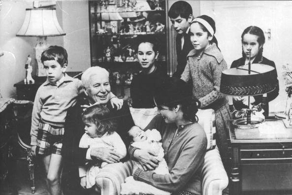 Meet Charlie Chaplin's Numerous Grandchildren