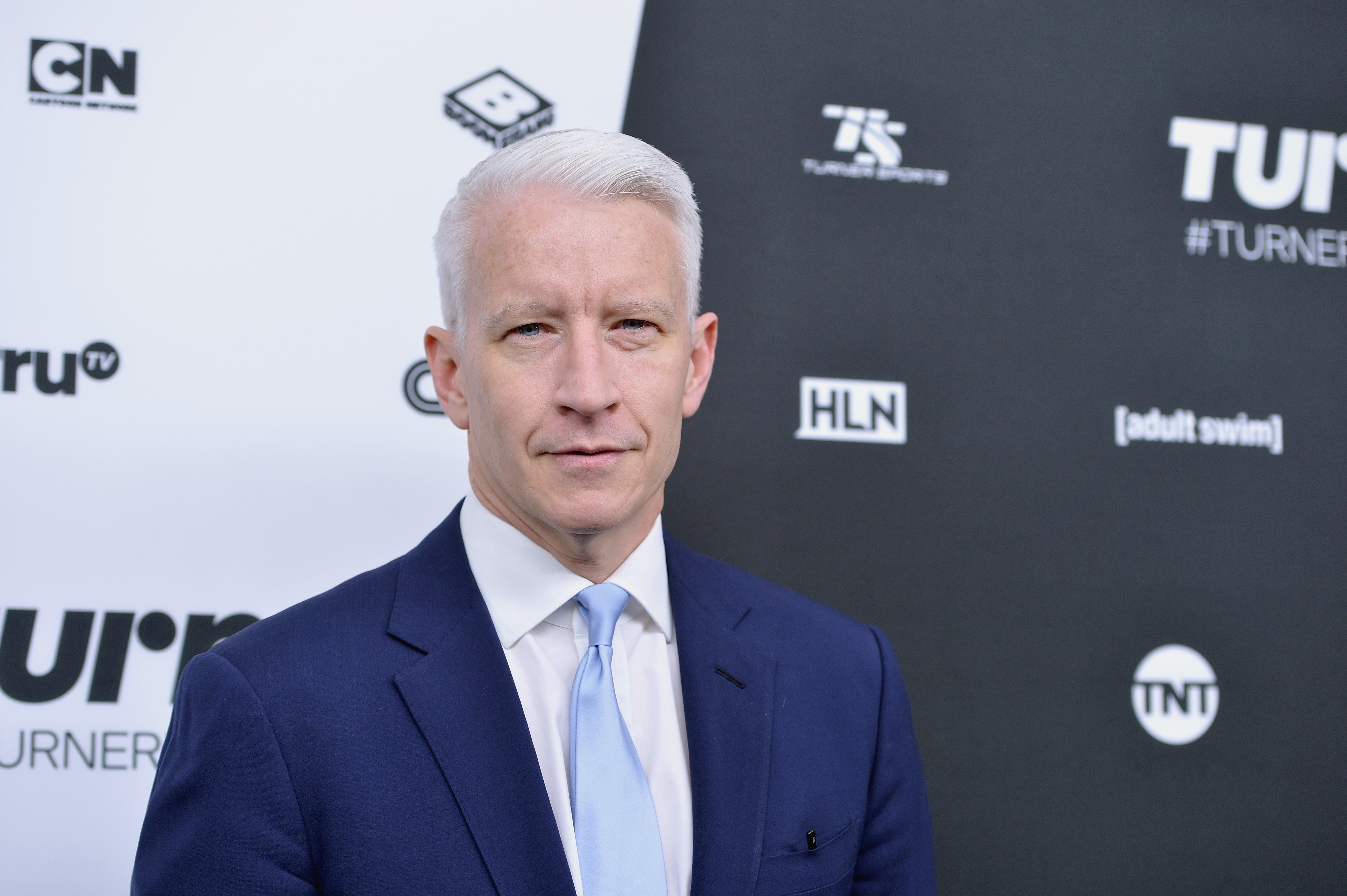 Anderson Cooper Image Source: Getty Images.