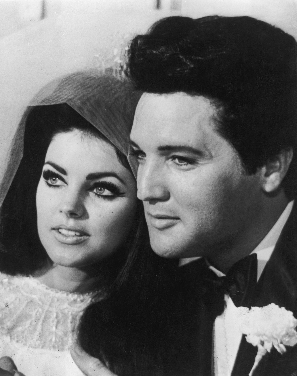 Priscilla Presley and Elvis Presley/Photo:Getty Images