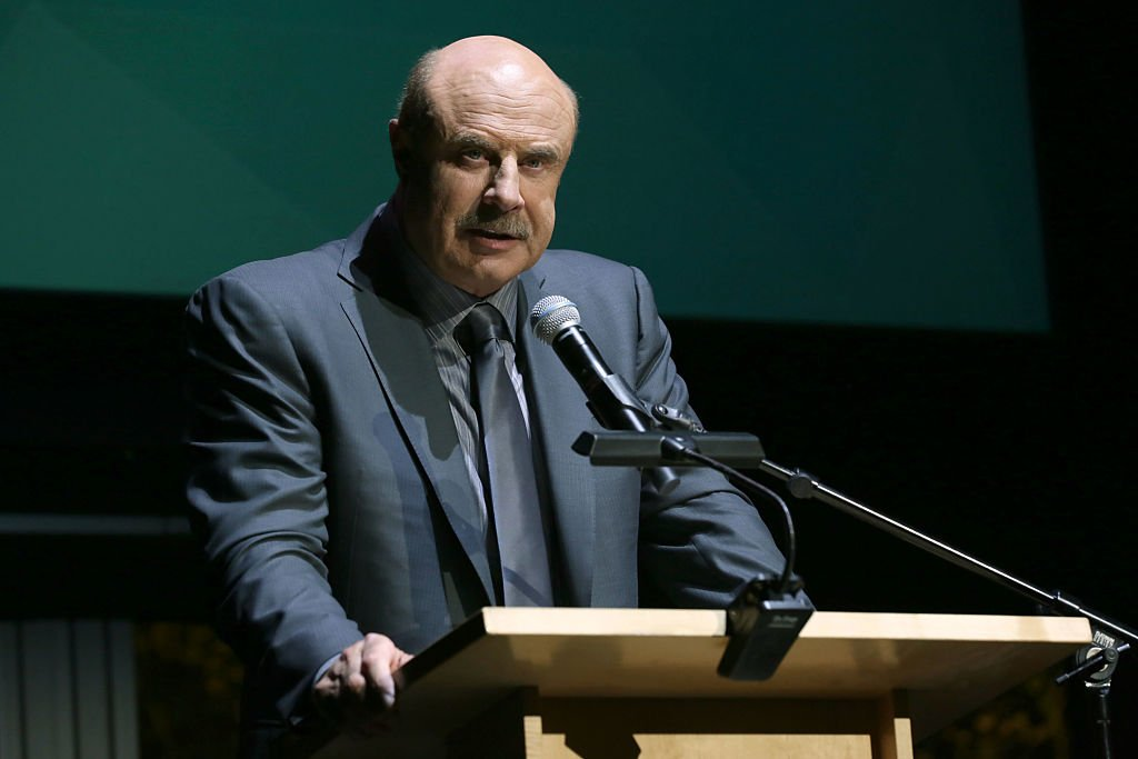 Dr. Phil McGraw Image Source: Getty Images.
