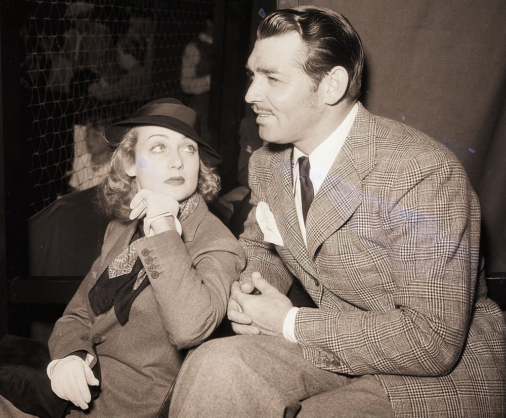 Image Credit: Getty Images / Actor Clark Gable and actress Carole Lombard.