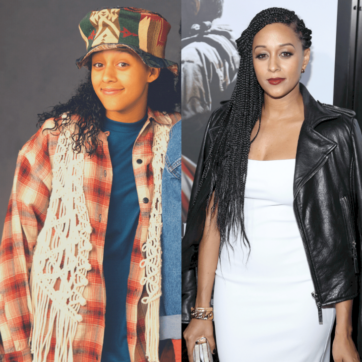 Image Credit: Getty Images / Before and After: Tia Mowry.
