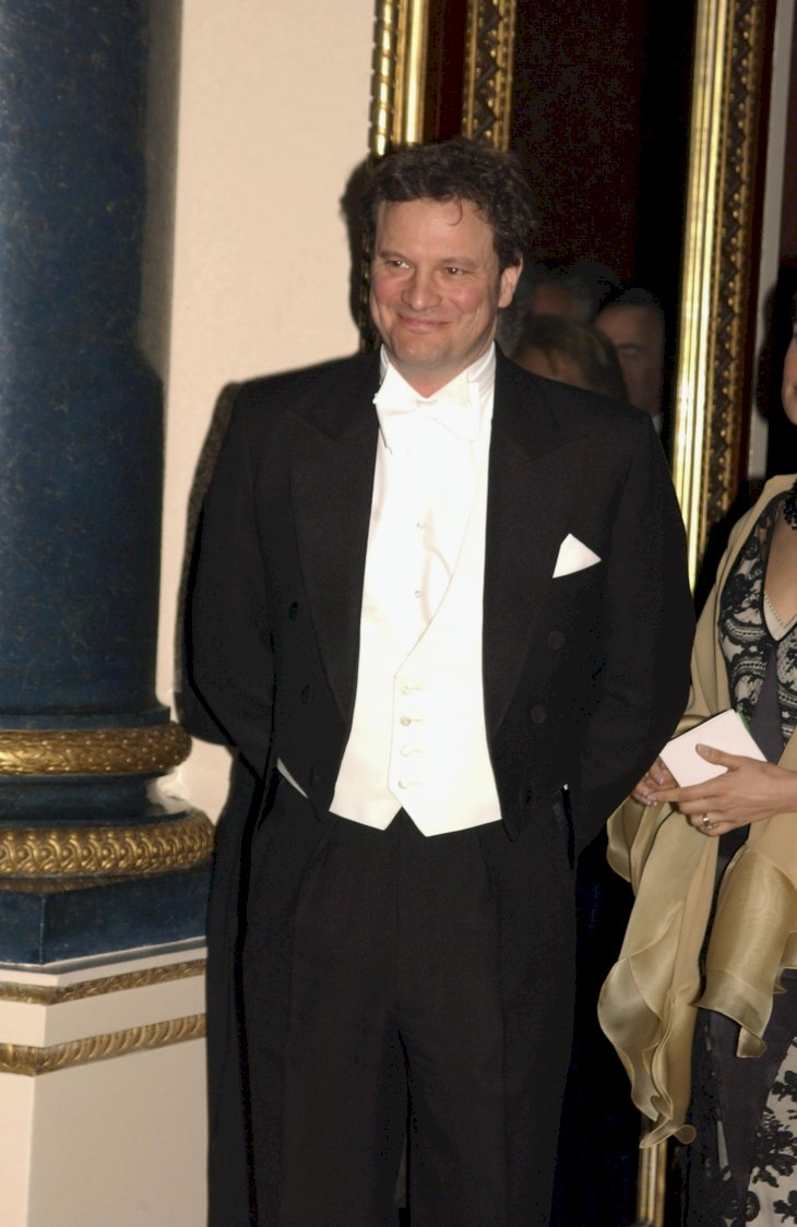 Image Credit: Getty Images/Anwar Hussein Collection/ROTA |Colin Firth attends The Queen welcome of the Italian Republic President and his wife Signora Ciampi at a State Banquet