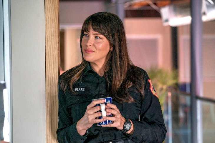 Image Credit: Getty Images / Liv Tyler on the set of 9-1-1: Lone Star.