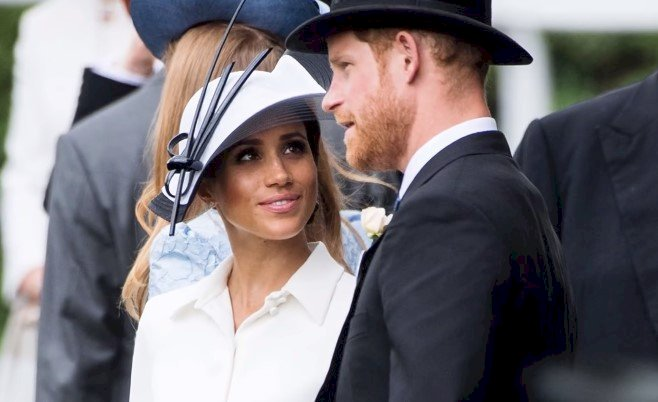 Meghan Markle und Prinz Harry | Quelle: Screenshot / YouTube / TheTalko