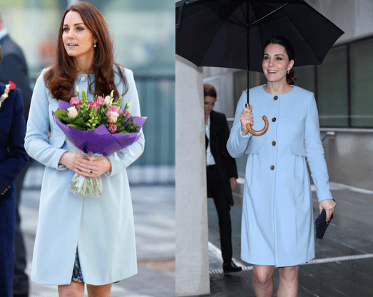 Image Credit: Getty Images/Mark Cuthbert - Getty Images/Anadolu Agency | The Duchess of Cambridge, Kate Middleton is pictured wearing an impeccable outfit.