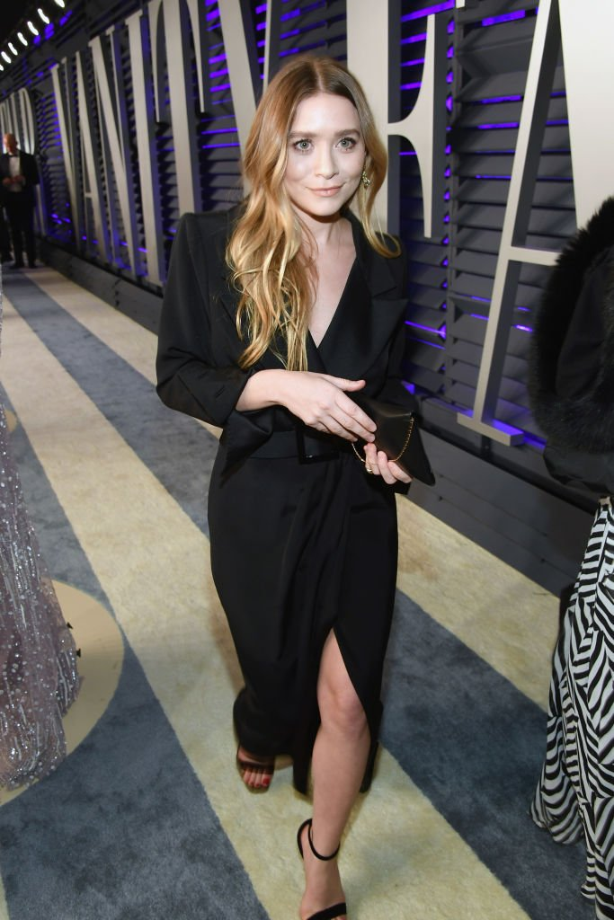 Image Credit: Getty Images/VF19/Getty Images for VF/Mike Coppola | Mary-Kate Olsen attends the 2019 Vanity Fair Oscar Party
