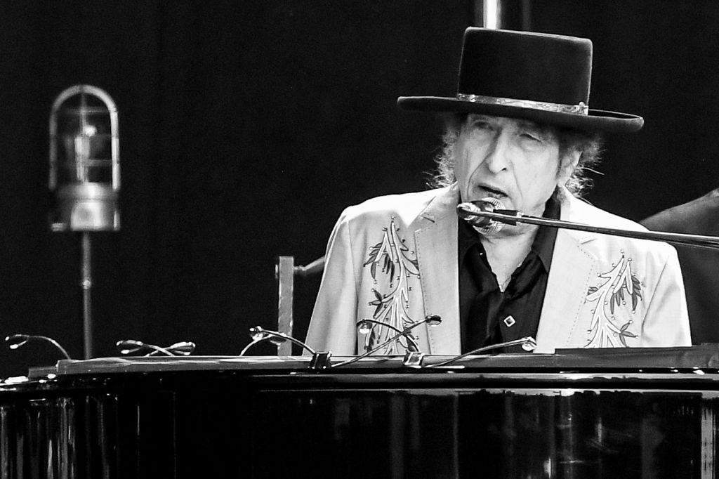 Image Credit: Getty Images / Bob Dylan performs as part of a double bill with Neil Young at Hyde Park on July 12, 2019.