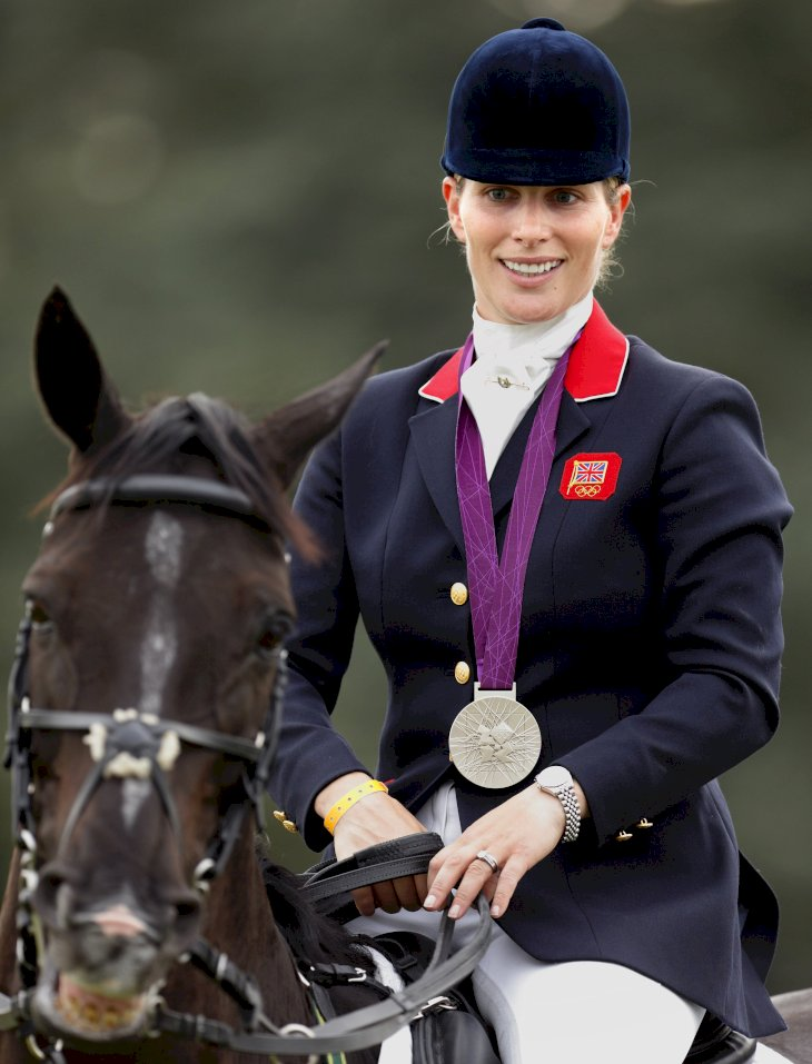 Image Credit: Getty Images / Zara Tindall on the 2012 London Olympics.