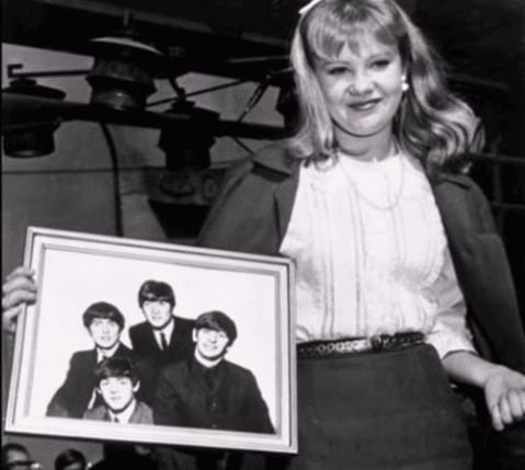 Hayley Mills after meeting the Beatles Image Source: Youtube