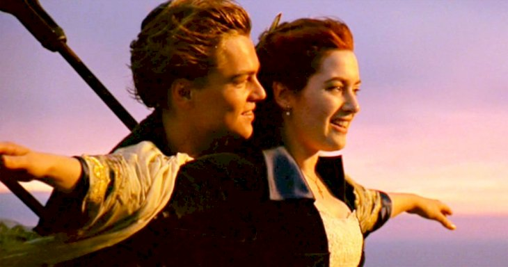 Image Credit: Getty Images/CBS via Getty Images | DiCaprio and Winslet in Titanic's most iconic scene