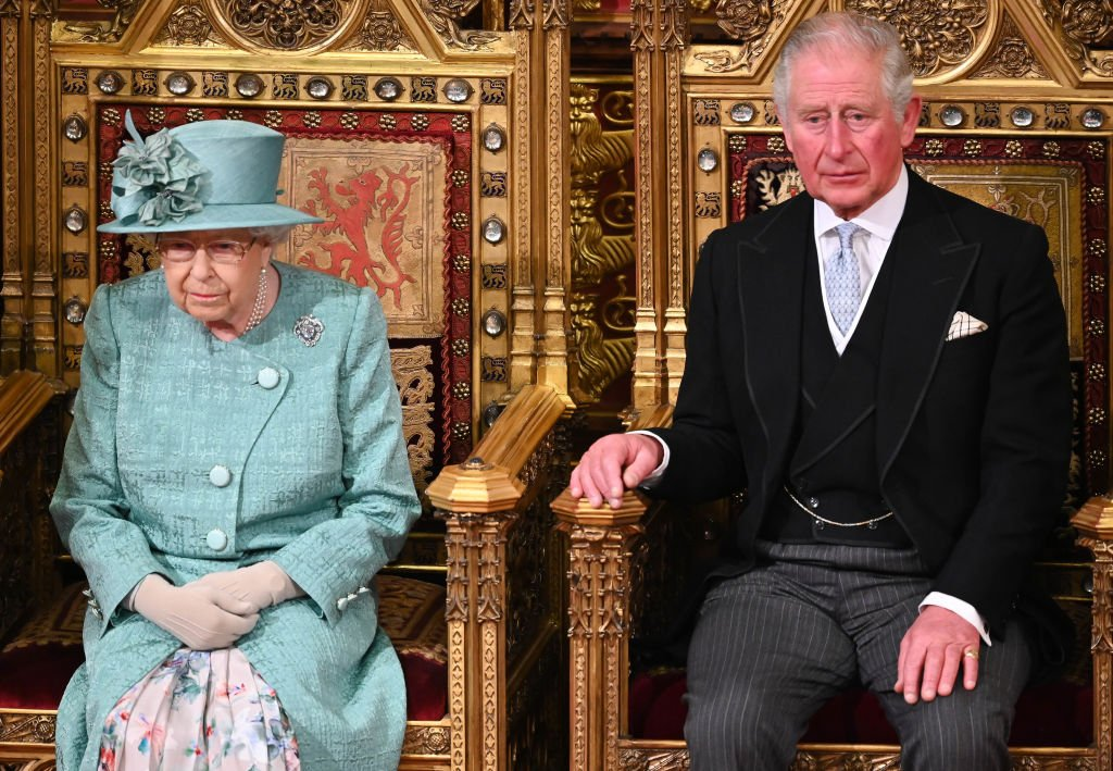 Image Credit: Getty Images / Queen Elizabeth II and Prince Charles, Prince of Wales attend the State Opening of Parliament in the House of Lord's Chamber on December 19, 2019 in London, England.