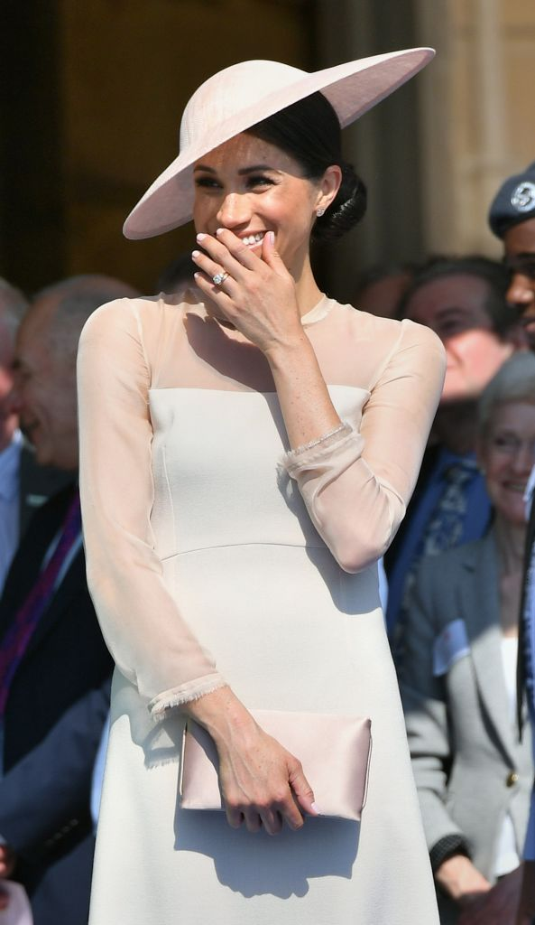 Meghan Markle demonstrates her love of cute hats / Getty Images