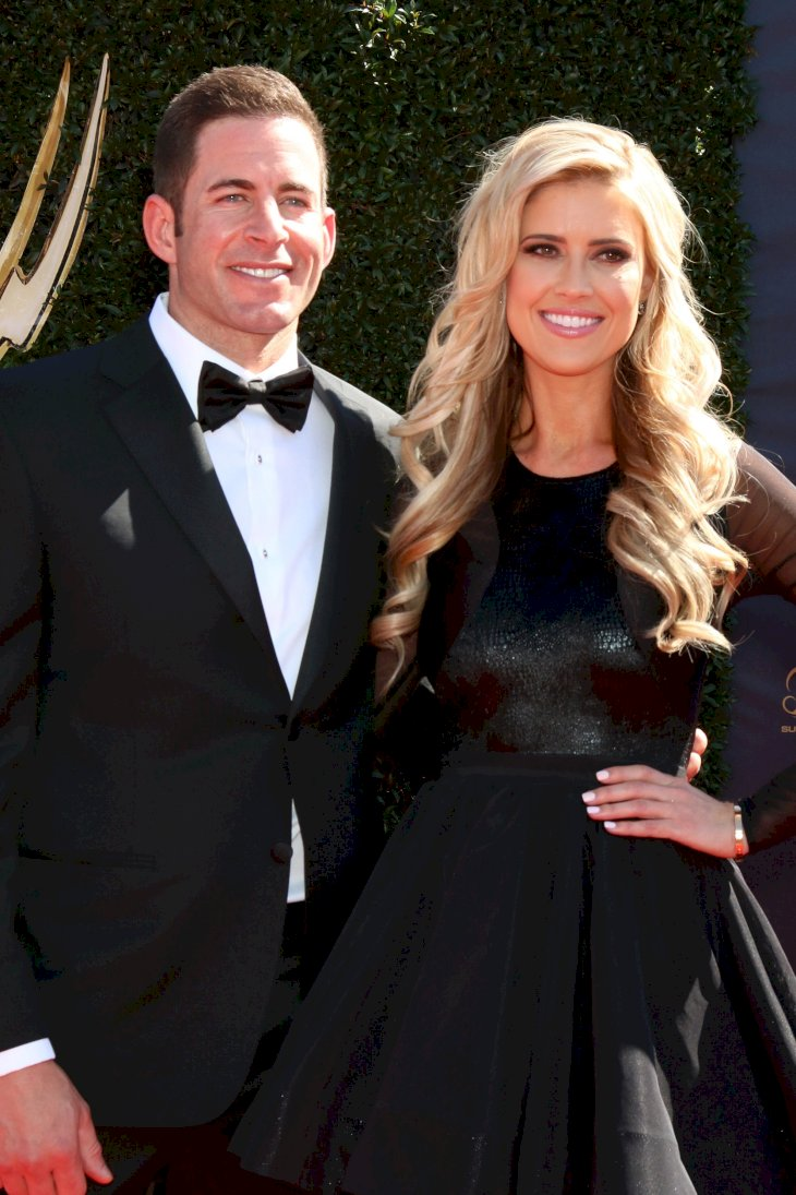 Image Credit: Shutterstock.com/Kathy Hutchins | Tarek El Moussa, Christina El Moussa at the 44th Daytime Emmy Awards