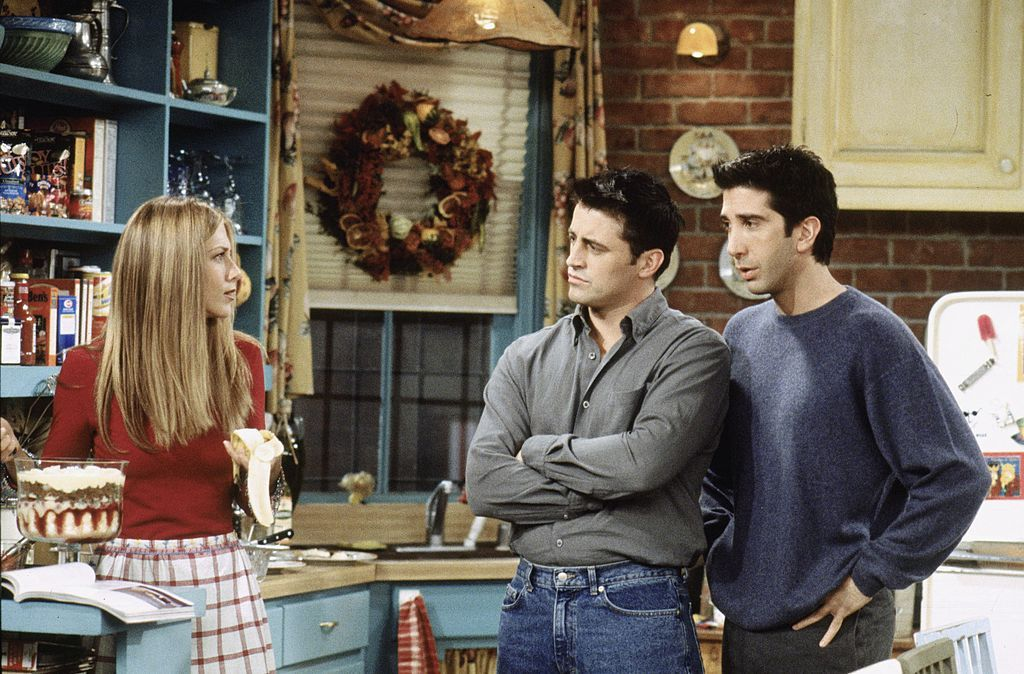 Jennifer Aniston, David Schwimmer and Matt Le Blanc/Photo:Getty Images