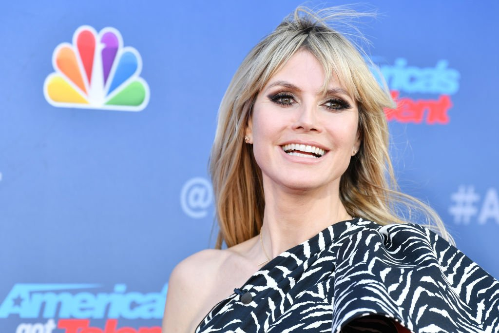 """Image Credit: Getty Images / Heidi Klum attends the """"America's Got Talent"""" Season 15 Kickoff at Pasadena Civic Auditorium on March 04, 2020."""