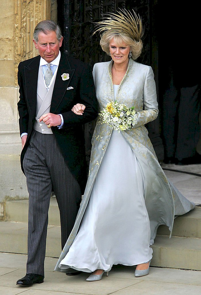 Image Credit: Getty Images / Prince Charles and the Duchess of Cornwall on their wedding.