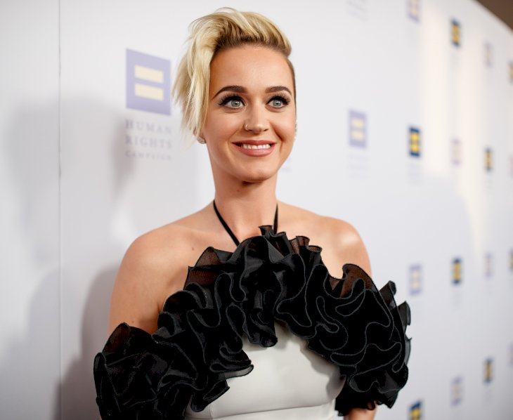 Image Credits: Getty Images / Christopher Polk | Singer Katy Perry arrives to The Human Rights Campaign 2017 Los Angeles Gala Dinner at JW Marriott Los Angeles at L.A. LIVE on March 18, 2017 in Los Angeles, California.