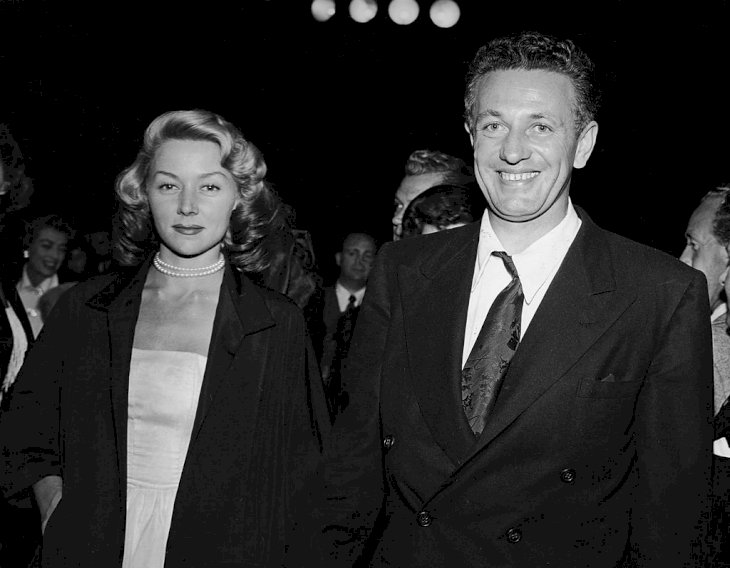 Image Credit: Getty Images/Pictorial Parade |  Nicholas Ray and his second wife, American actress Gloria Grahame