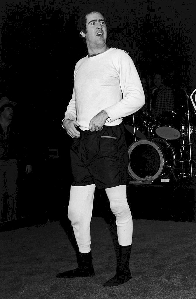 Image Credits: Getty Images / Andy Kaufman posing in Hollywood