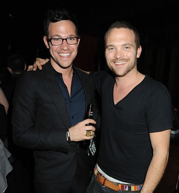 Image Credit: Getty Images / Will Young and his brother Rupert Young attend the afterparty following the press night of 'Spring Awakening', on March 26, 2009 in London, England.