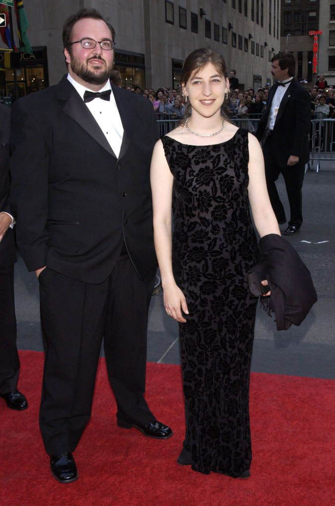 Mayim Bialik and Michael Stone/Photo:Getty Images