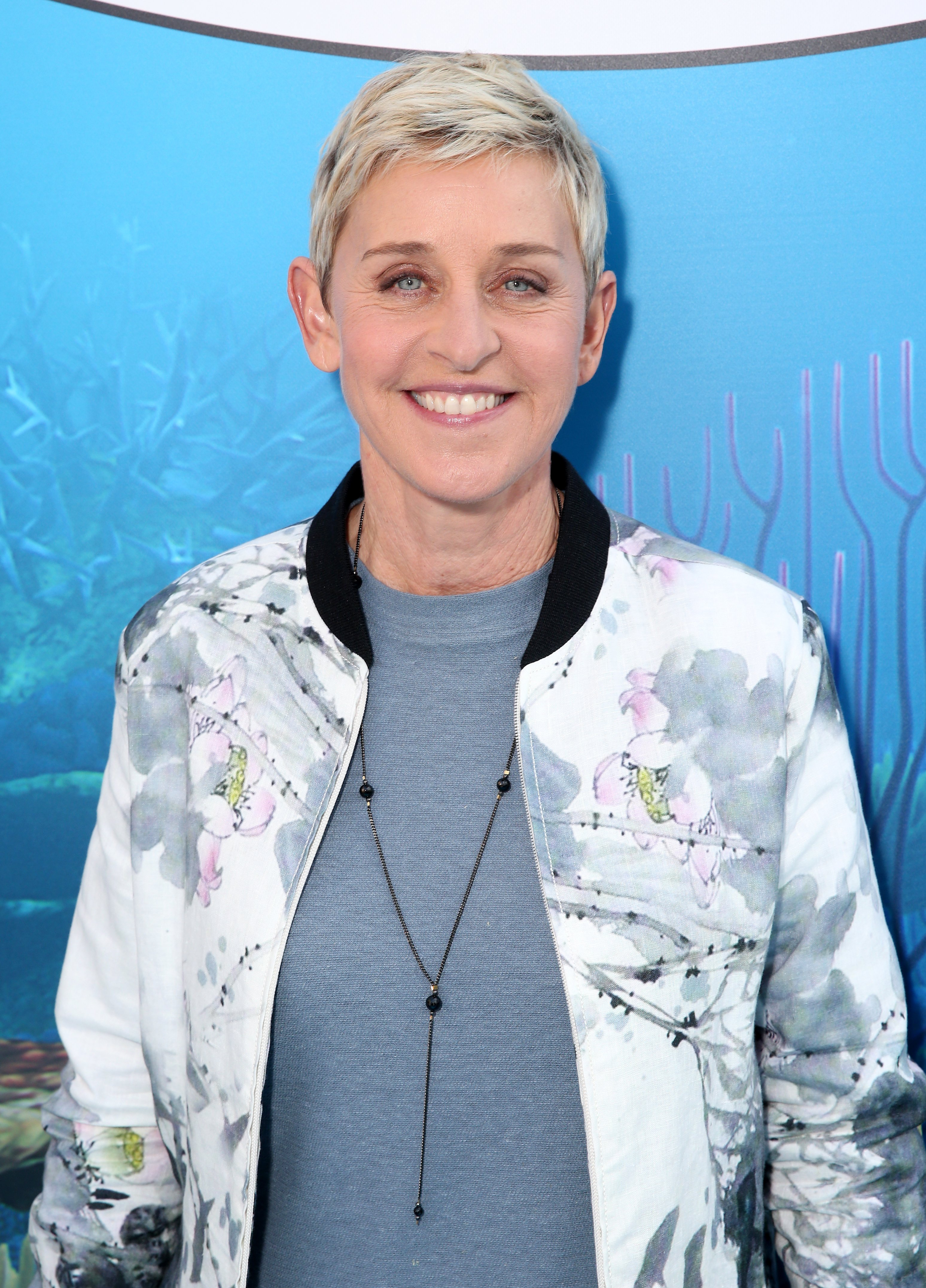 Image Source: Getty Images| Photo of Ellen in an event