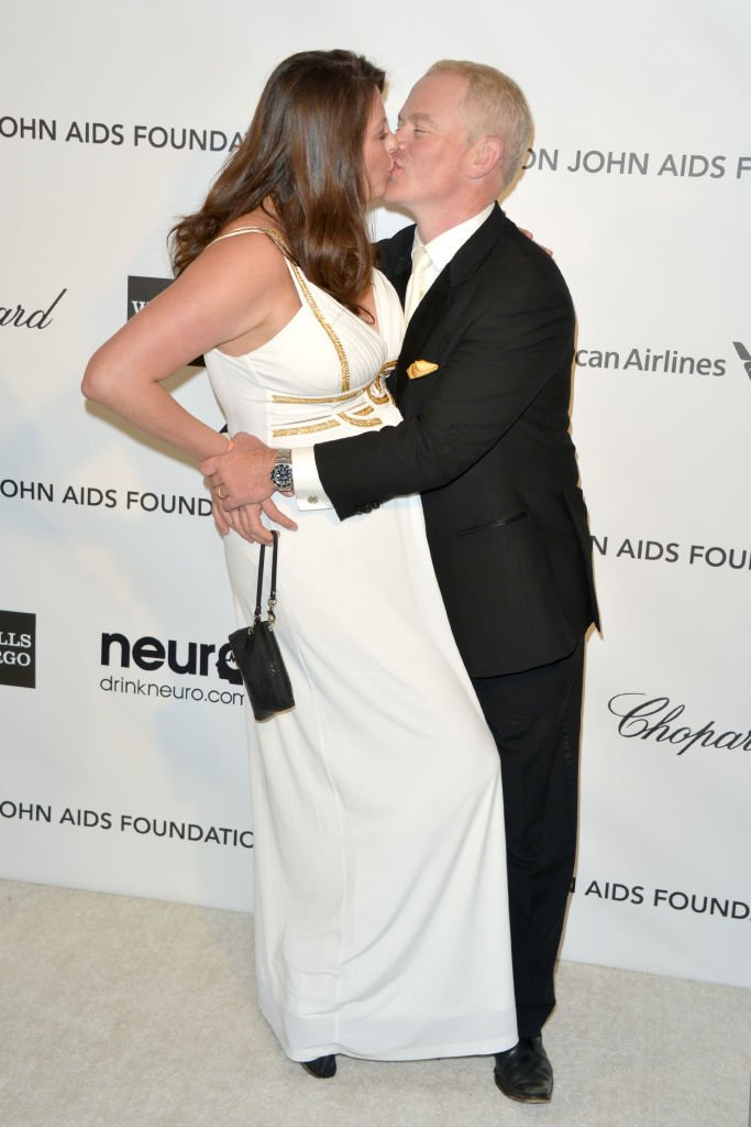 Image Credits: Getty Images | Neal with wife Ruve Robertson