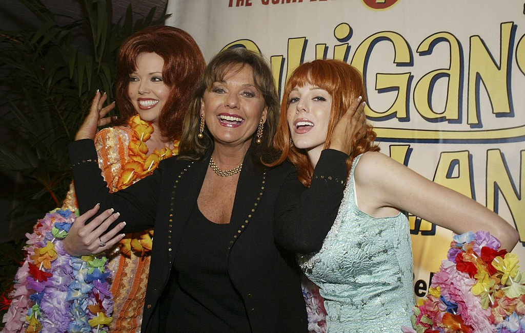 "Image Credit: Getty Images / Dawn Wells and ""Ginger"" characters during Warner Home Video's ""Gilligan's Island"" DVD Launch Event at FantaSea Yatch Club in Marina del Rey, California, United States."