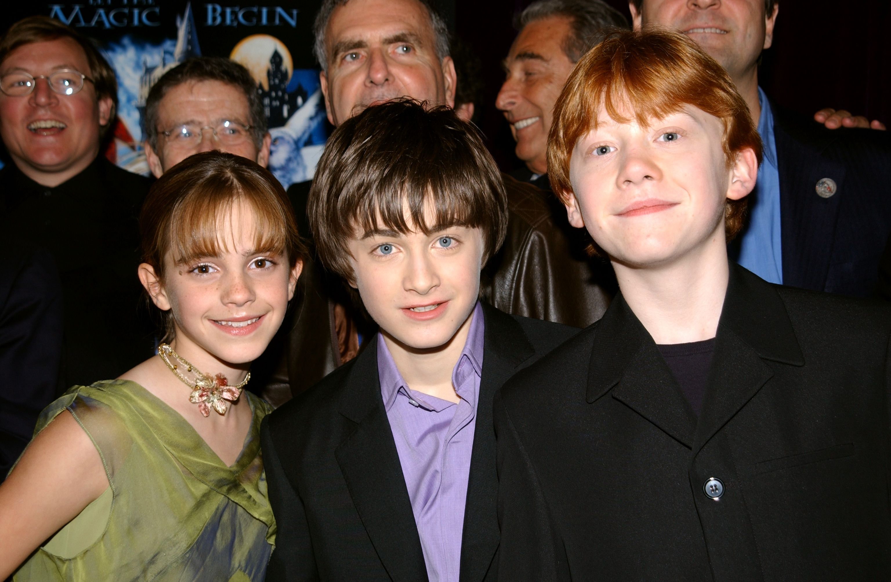 Daniel Radcliffe, Emma Watson and Rupert Grint/Photo:Getty Images