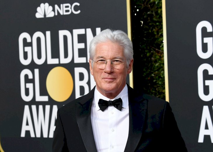 Richard Gere attending the Golden Globes/Photo:Getty Images