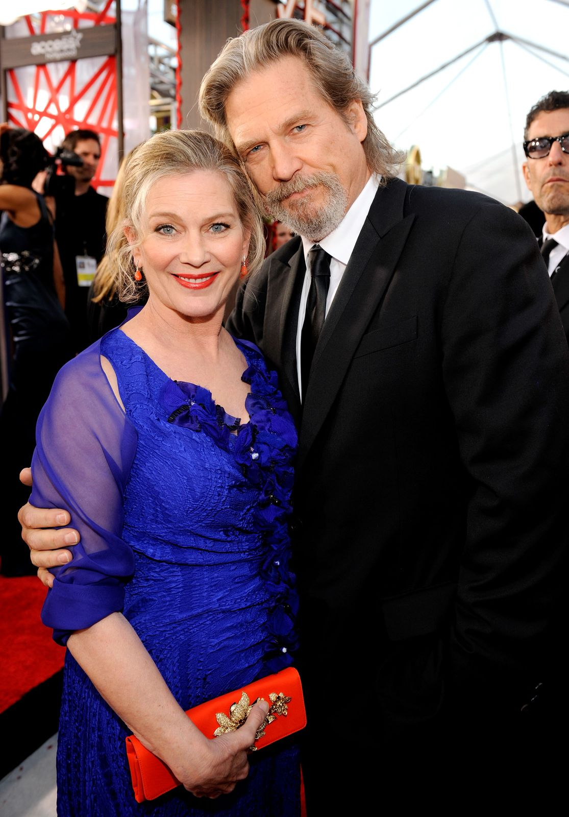 Jeff Bridges and Susan Geston Bridges/Photo:Getty Images