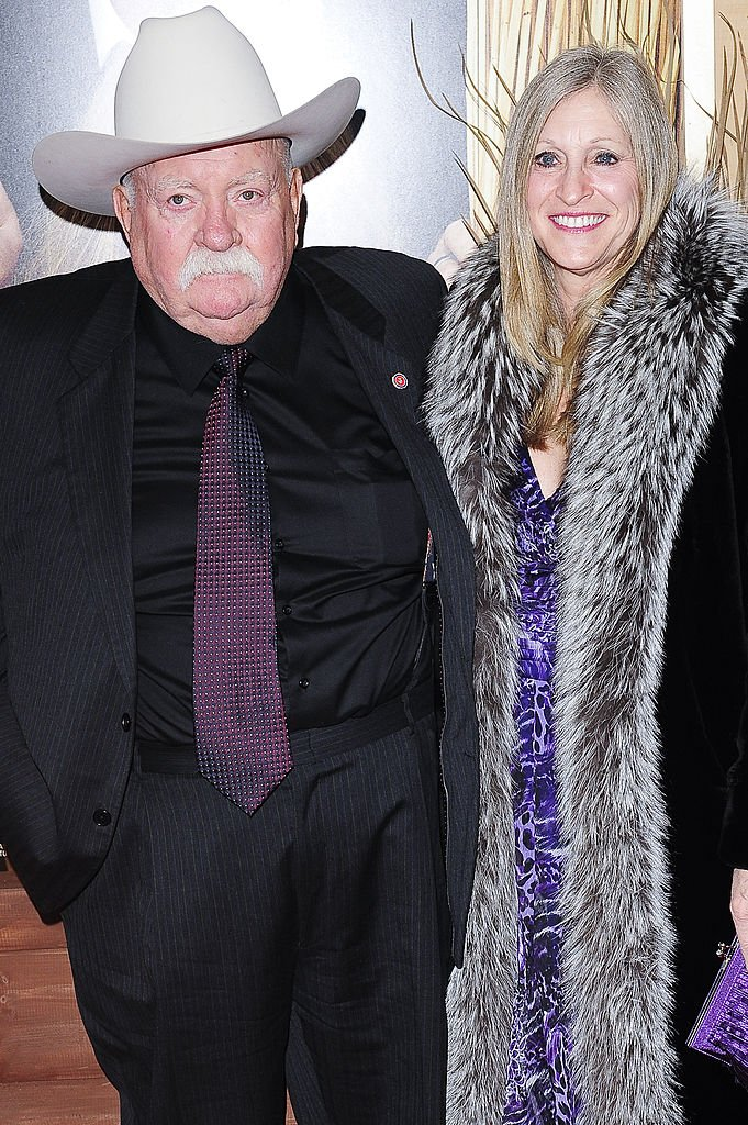 "Image Source: Getty Images/Ray Tamarra|  Actor Wilford Brimley and guest attend the ""Did You Hear About the Morgans?"" New York premiere at Ziegfeld Theatre on December 14, 2009 in New York City"