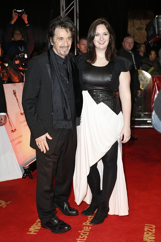 Image Credit: Getty Images/Franziska Krug | Pacino and Julie Marie at Goldene Kamera 2013