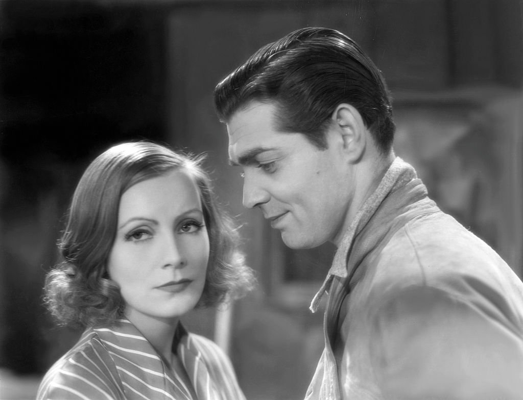 Image Credit: Getty Images / Clark Gable and Greta Garbo in a scene from MGM's Susan Lenox Her Fall And Rise, 1931.