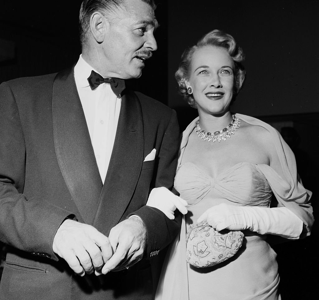 Image Credit: Getty Images / Actor Clark Gable and wife Kay Spreckels at a party at the Hilton Hotel in Los Angeles, California.