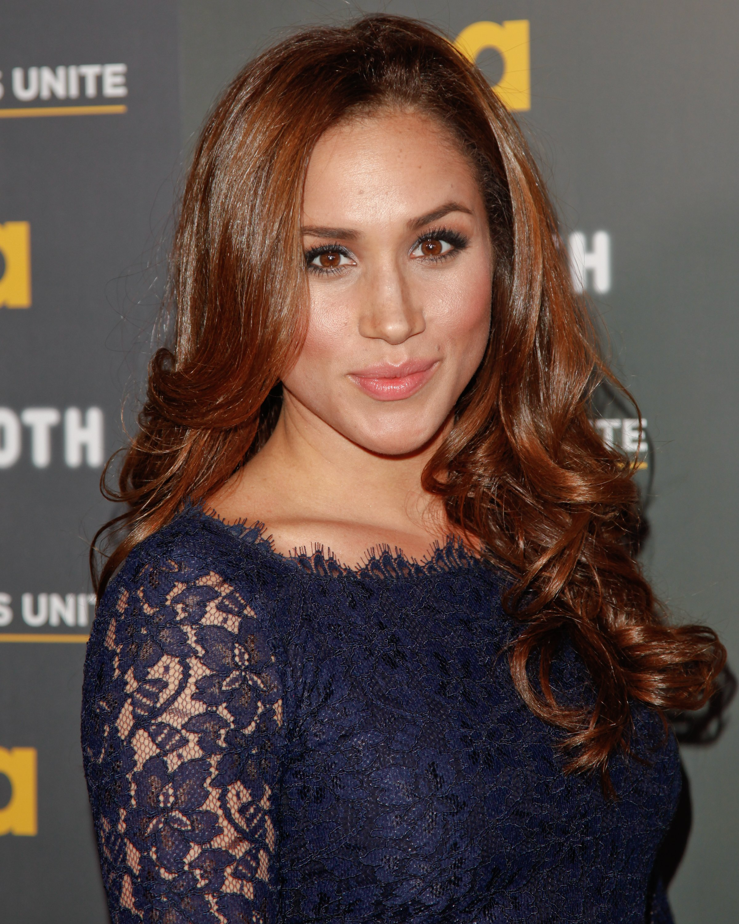"Image Credits: Getty Images / Paul Archuleta / FilmMagic | Actress Meghan Markle attends the USA Network and The Moth presentation of ""A More Perfect Union: Stories Of Prejudice And Power"" at Pacific Design Center on February 15, 2012 in West Hollywood, California."