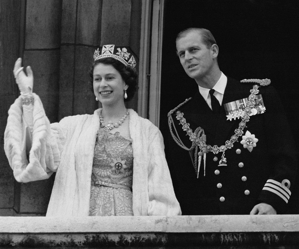 Image Credit: Getty Images / Queen Elizabeth II and Prince Philip on Buckingham Palace for her coronation ceremony, 2 June 1953.