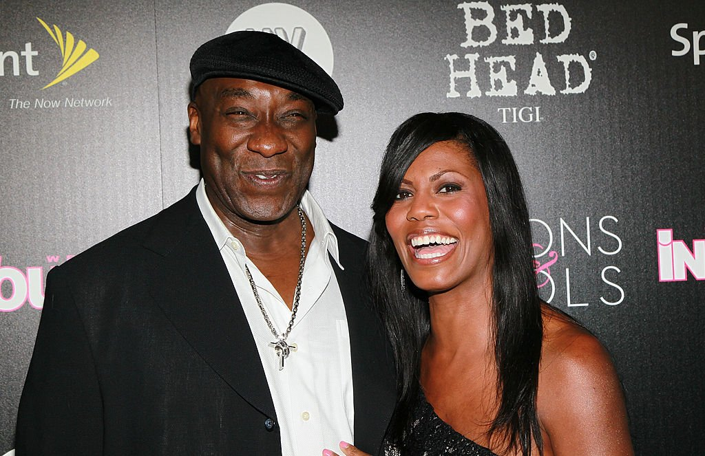 "Image Credit: Getty Images / Actor Michael Clarke Duncan (L) and TV personality Omarosa Manigault-Stallworth attend In Touch Weekly's annual ""Icons & Idols"" celebration at Bar Marmont on September 12, 2010 in West Hollywood, California."