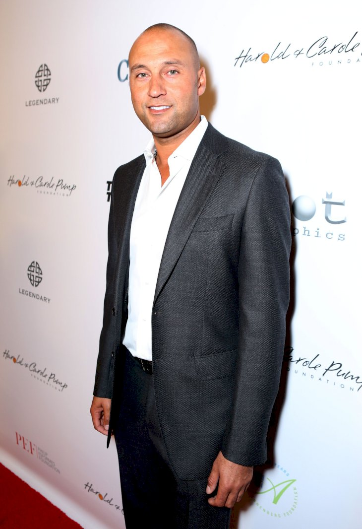 CENTURY CITY, CA - AUGUST 07: Baseball player Derek Jeter attends the 15th annual Harold & Carole Pump Foundation gala at the Hyatt Regency Century Plaza on August 7, 2015 in Century City, California. (Photo by Tiffany Rose/Getty Images for Harold & Carole Pump Foundation)