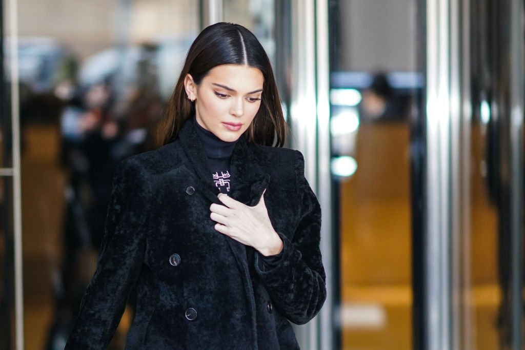 Image Credit: Getty Images / Kendall Jenner during New York Fashion Week Fall-Winter 2020, on February 08, 2020 in New York City.